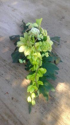 Wedding Car Decorations, Grave Decorations, Flower Decorations, Funeral Flower Arrangements, Funeral Flowers, Floral Arrangements, Vence, Topiary, Ikebana