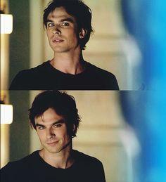 The Damon face. Damon Salvatore - The Vampire Diaries ♥