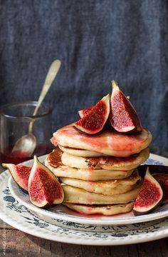 pancakes with figs by Renáta Dobránska