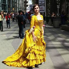 This my friends, is a historically accurate Belle cosplay