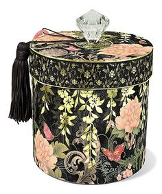 Punch Studio Asian Peony Toilet Tissue Holder | zulily
