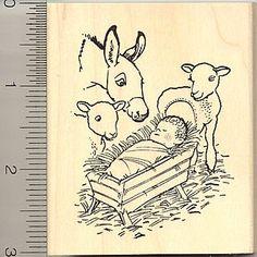 Christmas Nativity Rubber Stamp - Wood Mounted RubberHedgehog http://www.amazon.com/dp/B001EKBCFC/ref=cm_sw_r_pi_dp_j4Acwb128CSKT