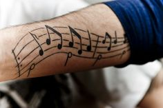 Music Note Tattoo Designs | Music Notes Tattoos Designs For Men - Music Information - Music ...