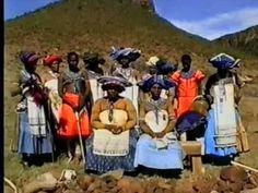 UMNGQOKOLO - Thembu Xhosa - OVERTONE SINGING filmed 1985-1998 in South Africa - YouTube