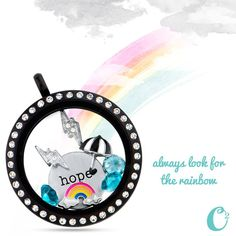 There is a rainbow after every storm! Origami Owl - Marissa Hammond, Independent Designer #11237421 www.bellebelle.origamiowl.com