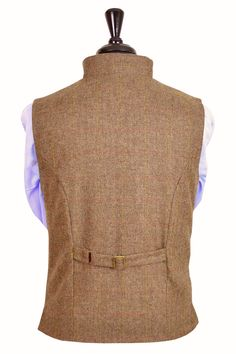 Gentleman's Regency Waistcoat (Glenshiel Tweed).  Regency style is timeless band incredibly smart! The  perfect way to bring a splash of individual style to any formal or smart-casual look.