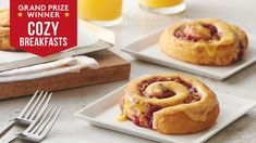 Say hello to our new favorite way to make Pillsbury™ Cinnabon™ Orange Rolls—with jeweled-toned cranberries, sweet pineapple, ginger and walnuts for crunch. Just try not to love them!