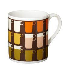 orla kiely stacked cup mug