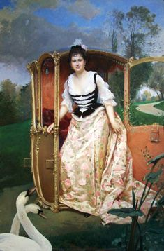 ⍕ Paintings of People & Pets ⍕  Raimundo de Madrazo y Garreta  | Portrait of Isabelle McCreery, 1841