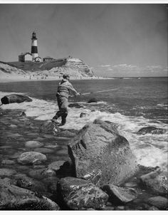 Montauk Point Light. 1939. #montauk #longisland #newyork