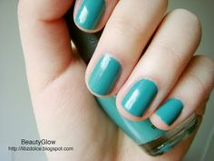 Matte blue-green Sephora.