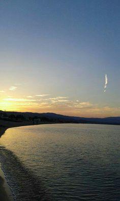 Ηλιοβασίλεμα. ..στο λιμάνι