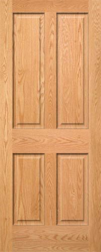 Steves & Sons 30 in. x 80 in. 2-Panel Arch Solid Core Oak Interior ...