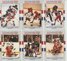 1991 Impel U.S. Olympic Hall of Fame 1980 Ice Hockey Team 11 card lot NM + Gold