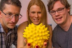 Pollen gets super-sized: Seeing and feeling unseeable is becoming a reality thanks to 3D printing