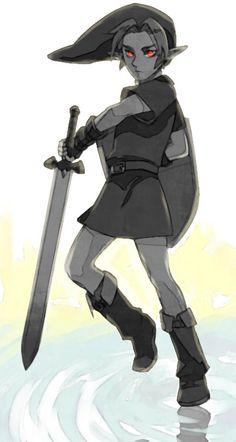 The Legend of Zelda- Dark Link #Game ☆*:.。. o(≧▽≦)o .。.:*☆