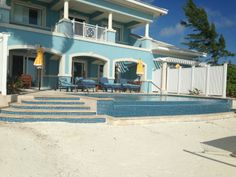 Royal Estate Two Story One Bedroom Beachfront Butler Villa with pool! Let's tough it out here for a week... or longer. Two adjoining room options makes this the best choice for three couples.