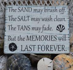 Memories of the beach!