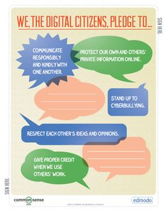 Free Technology for Teachers: A Digital Citizenship Guide from Edmodo and Common Sense Media