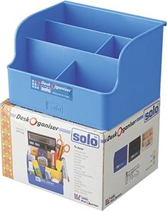 Solo DL- 102 Desk Organizer - Blue: Amazon.in: Office Products
