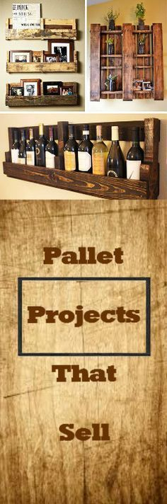 Pallet Projects That Sell:http://vid.staged.com/g7Is More #woodcraftprojects