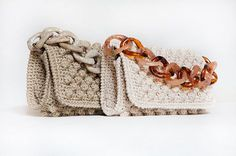 Best Leather Wallets For Women 2019 Crochet Clutch Bags, Free Crochet Bag, Mode Crochet, Crochet Tote, Crochet Handbags, Crochet Purses, Handmade Handbags, Handmade Bags, Best Leather Wallet
