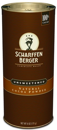 SCHARFFEN BERGER Natural Cocoa Powder: made from perfectly roasted and well-fermented beans and perfect for baking and beverages!