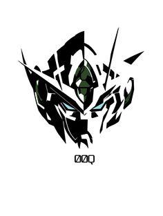 silhouette by on DeviantArt Gundam Head, Gundam Wing, Gundam Exia, Gundam 00, Mecha Suit, Gundam Wallpapers, Anime Furry, Mecha Anime, Gurren Lagann