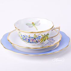 This reminds me of Kerry's Nano. Tea Cup with Dessert Plate – Texas Bluebonnet Vintage Cups, Vintage Dishes, Vintage Tea, Tea Cup Set, Cup And Saucer Set, Tea Cup Saucer, Tea Snacks, Tea And Books, Dessert Cups