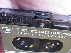 Hewlett-Packard DC100 Data Cartridge Tape, 1975