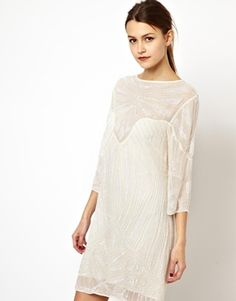 Asos dress  could be altered with another layer underneath? Could be good design for 7month pregnant belly!