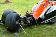 #F1 Wrecked Marussia...