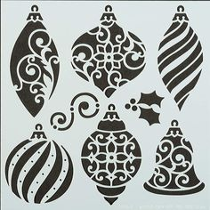 Trim A Tree Stencil by Hot Off The Press Inc (4109246)