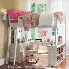Construindo Minha Casa Clean: 15 Quartos dos Sonhos de Toda Adolescente!!!
