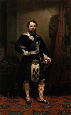 Portrait of George Augustus Frederick Murray (1814–1864), 6th Duke of Atholl by John MacLaren Barclay (Scottish 1811–1886)