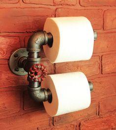 derouleur support papier original design ou serviteur etagere wc