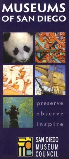 #Museums of #SanDiego #California #Travel #Brochure