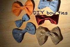 Mr. Kate Bow DITie (DIY Bow Tie) (+playlist)