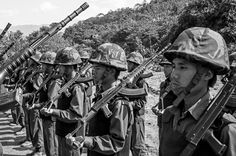 In Pictures: Myanmar's student army - In Pictures - Al Jazeera English