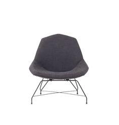Augusto Bozzi; Lounge Chair for Saporiti, 1950s.