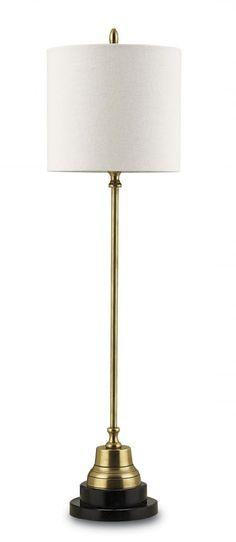 Messenger Table Lamp, Brass : 90E0   Legend Lighting Inc.