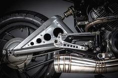 """'Snubnosed Revolver' Yamaha XV500 - MotoRelic. There's nothing better than getting an open brief from a client – especially when the brief is a challenge to do something different. So when a good customer, Dan Smith, came into MotoRelic with a completely stock '83 Virago XV500 and said """"what can you do with this?"""", Sean from MotoRelic's mind immediately went into overdrive..."""