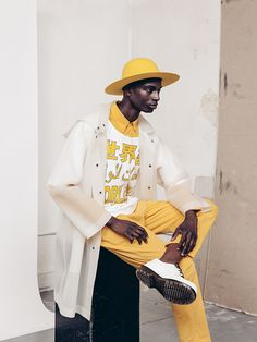 black-boys: Aly Ndiaye by Geordie Woods Woods Photography, Fashion Photography, Fashion Sewing, Mens Fashion, Feeling Fine, What Should I Wear, Black Boys, Simple Style, Men's Style