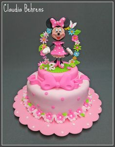 minnie mouse cake gavi - claudia behrens | Flickr - Photo Sharing!