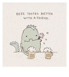 but with a t-rex! Tequila, Beer Names, Beer Quotes, Beer Art, Drinking Quotes, Home Brewing Beer, Beer Humor, Beer Tasting, Frases