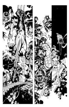 X-Men 9 pg 4 by TimTownsend on deviantART