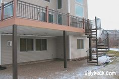 Spiral Staircase Deck Builders 12