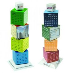 Our Revolving Calendar Cube Stand is great for calendars and for showing your products and services. The calendar stand is suitable for sales meetings, trade shows, incentives, product launches, education, and more. Perfect promotion gift. Your logo is welcome.