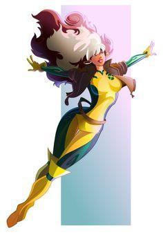 by pushfighter  tags : xmen  heroes  storm  art  fanart  girl