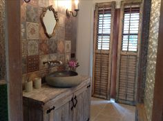 Our new ensuite featuring Memory Mood tiles